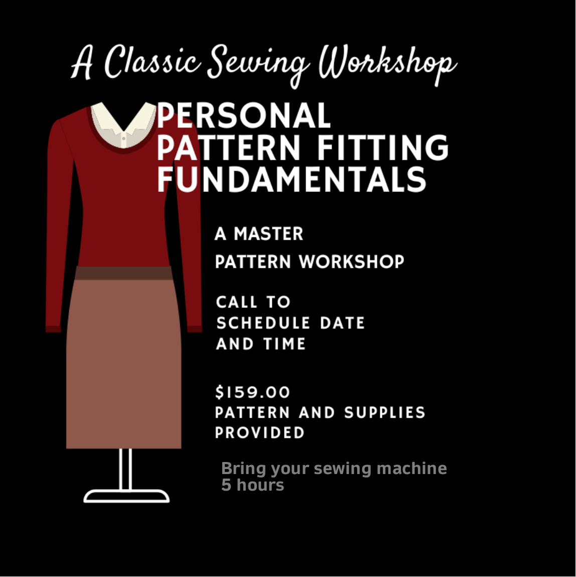 Personal Pattern Fitting Fundamentals