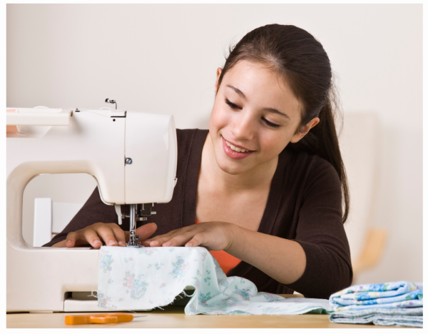 Sewing with teens